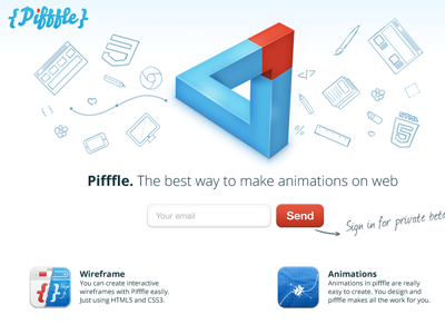 Pifffle coming soon page pifffle css html css3 html5 web soon coming webdesign