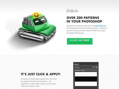 Patfeedr  photshop plugin webdesign pattern subtle patterns images layer layer styles background