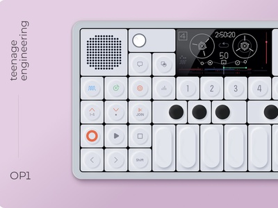 Synthesizer illustration vector