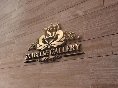 SKG typography design logo
