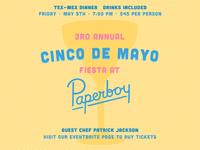 Paperboy Cinco De Mayo Instagram