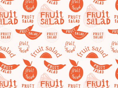 The Fruit Salad Logo WIP