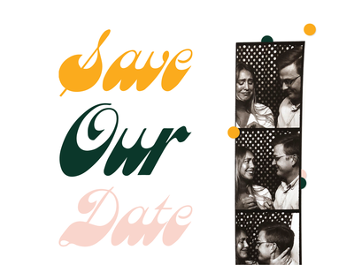 Save Our Date Email