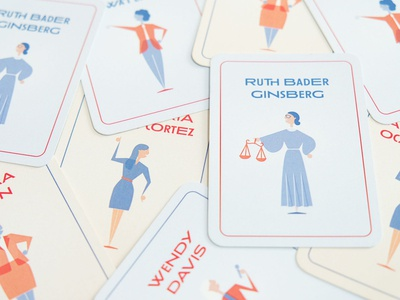 Political Heroine Trading Cards