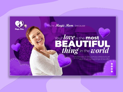 Magic Mom Banner Design