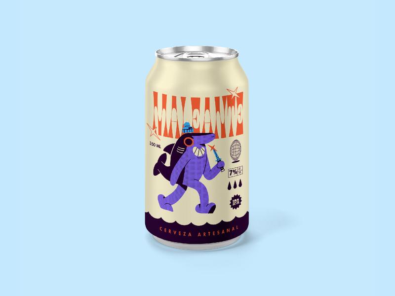 Cerveza Maleante Can