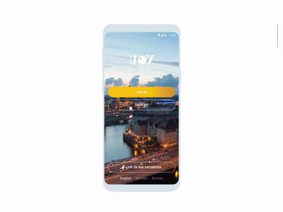 The Joy. Beauty & Wellness app design wellness joy platform ios android development beauty booking app mobile animation fresh freshdesign design ux ui