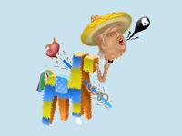 La piñata de D.T.