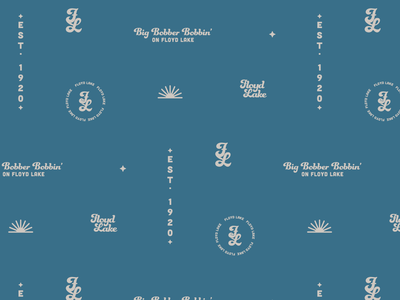 Floyd Lake Pattern funkydori lake graphicdesign pattern design illustrator cc branding pattern