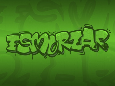 esmorzar typography letter snack vine beer green graffiti graffitti food eat dinner lunch esmorzar