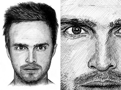 Jesse Pinkman Illustration