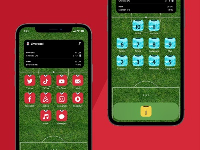 iOS 14 Football Kit Icons kits football icons ios14