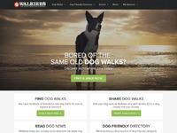 Walkiees homepage full