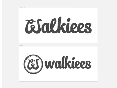Walkiees logo redesign