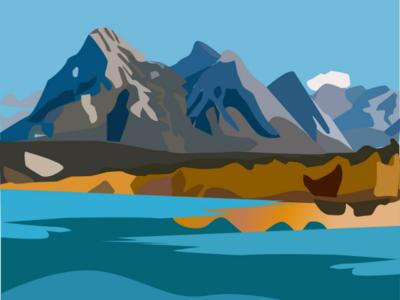 mountain nature mountain