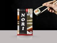 Nori nori нори branding упаковка design vector illustration