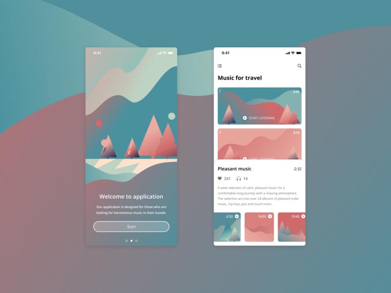 Welcome screen app design app design ios app design figma branding vector