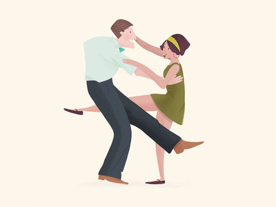 Lindyhop dance party