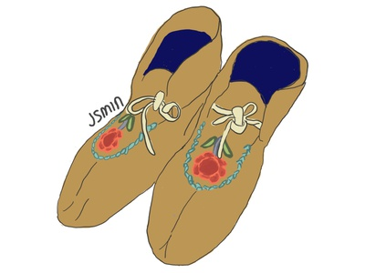 Shoes Illustration shoes digitalart design illustration