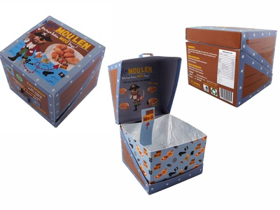 Packaging Design traditional food packaging design
