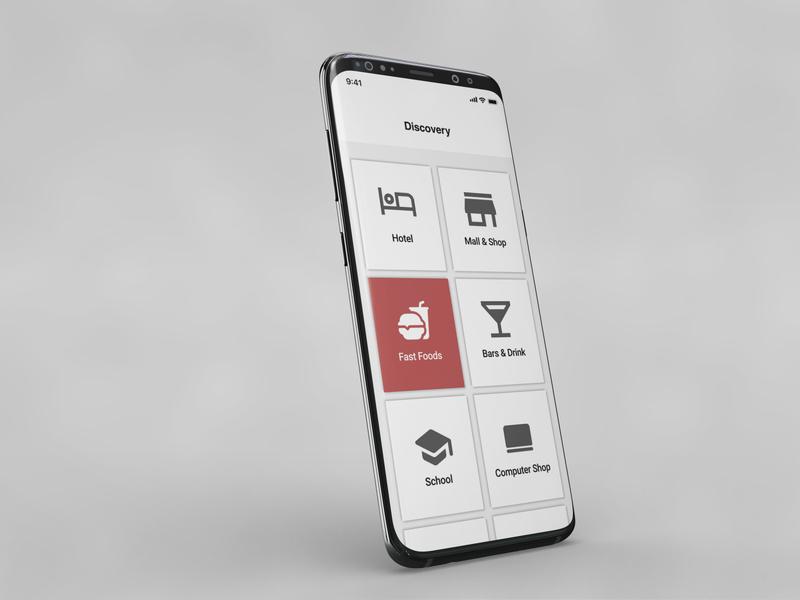 discovery app design