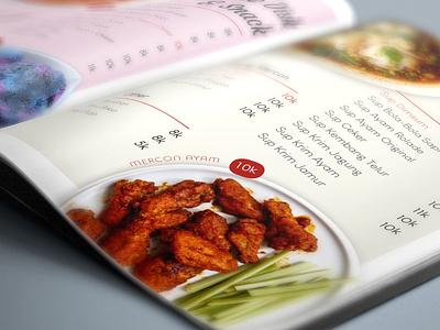 Food Menu Design branding adobe illustrator illustration design
