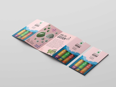Leaflet Design Mockup brochure leaflet vector adobe illustrator illustration design