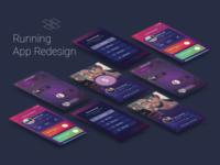 Running App Redesign