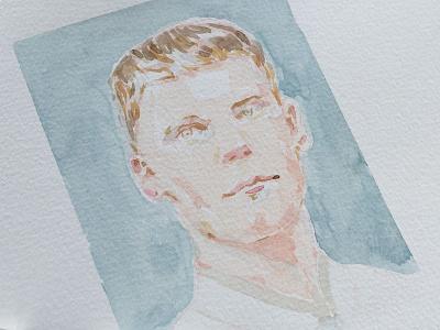Portraiture practice.  watercolour watercolor painting art portraiture illustration