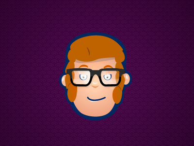 Ben illustration character design glasses