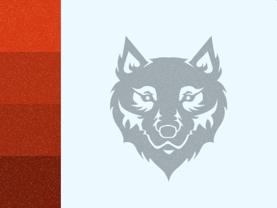 Wolf Crest sketch vector color crest palette pixelmator wolf