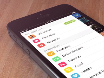 iOS 7 Style App Basement