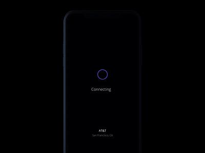 Speedtest colors graph points mobile loading cgi cg 3d menu lights animation world blue links test speed app design ux ui