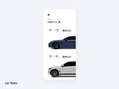 Car fines porsche tools interface c4d smart lights music render clean automotive car fines vehicle product mobile app animation design ai cgi 3d