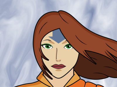 Character Design in The Style of The Last Airbender
