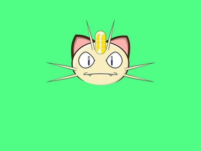 Meowth Face