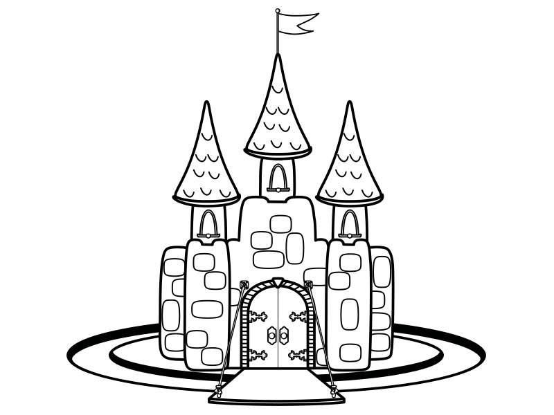 - Castle Coloring Book By James Lively On Dribbble
