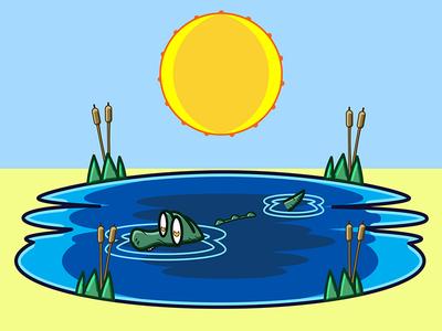 Aligator Adventure Colored