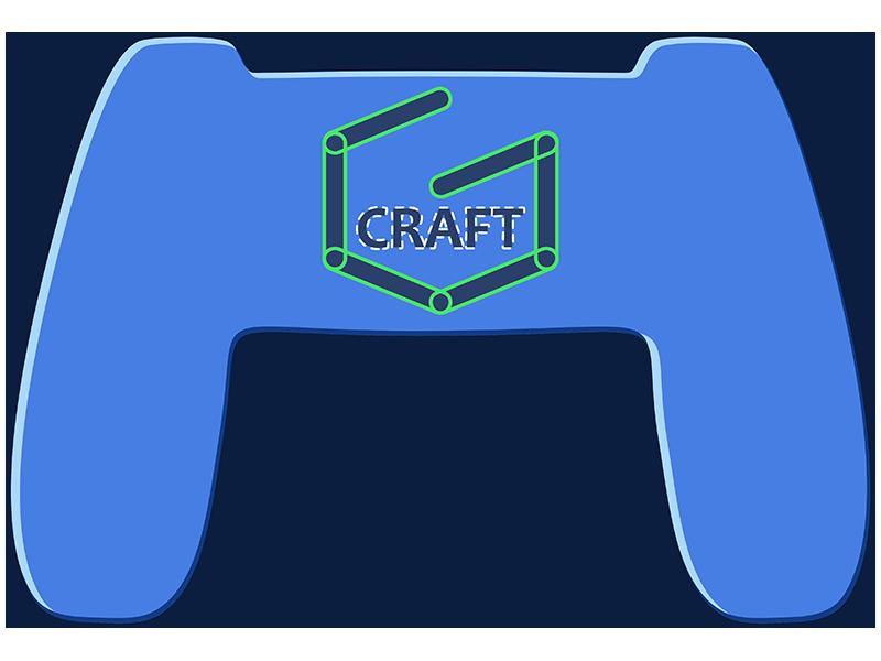 Gamecraft Icon Dribbble logomark logo icon gamedev