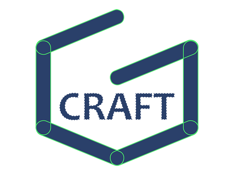 Gamecraft Wordmark Dribbble logomark logo icon gamedev