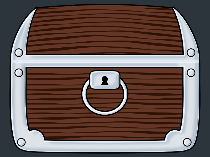 Treasure Chest Second Option A Dribbble treasure chest asset