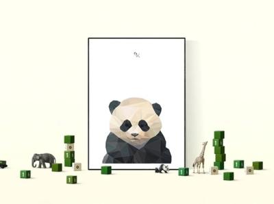 """Plakat """"Geometry Panda"""""""