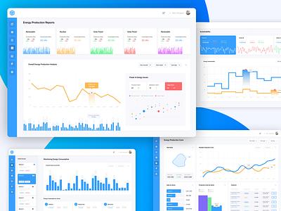 Energy Analytics Platform research energy admin dashboard dashboard ui dashboard app web app analysis analytics dashboard energy analytics dashboard design