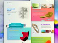 Furneyture Website Concept