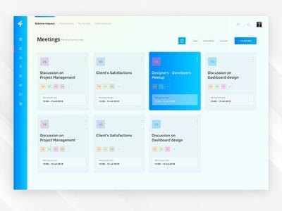Soliter Meeting Screen - Task Management Dashboard