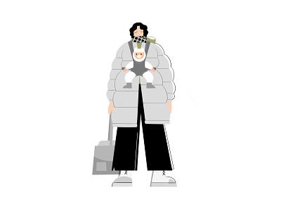 kim ji young illustration branding design archetype illustration character