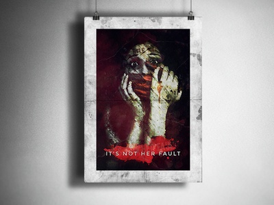 Flyer for It's Not Her Fault ( Anti-Rape Campaign )
