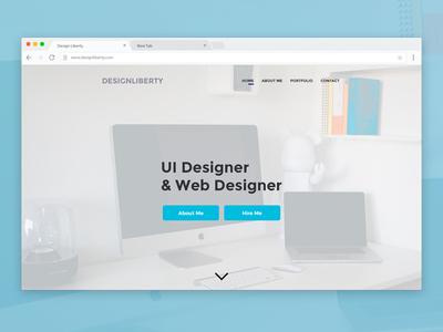 Design Liberty Website Template
