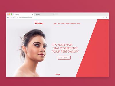 Persona Website Redesign