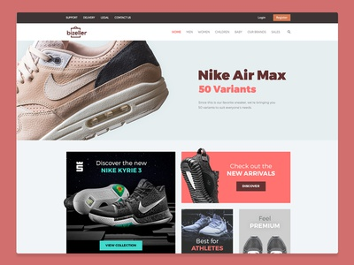 E-commerce Website UI